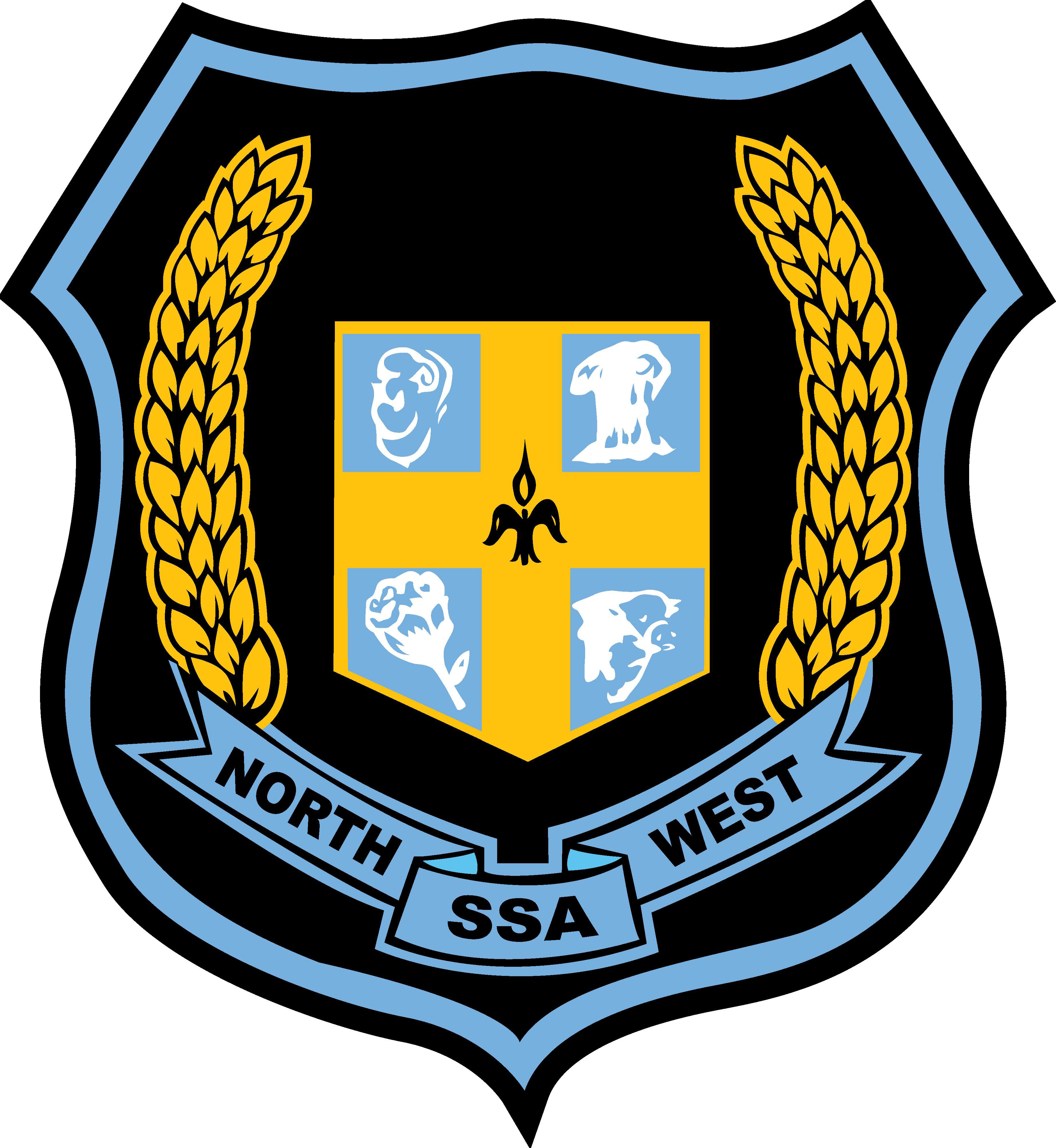 North West Schools Sports Association logo