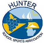 Hunter Schools Sports Association logo