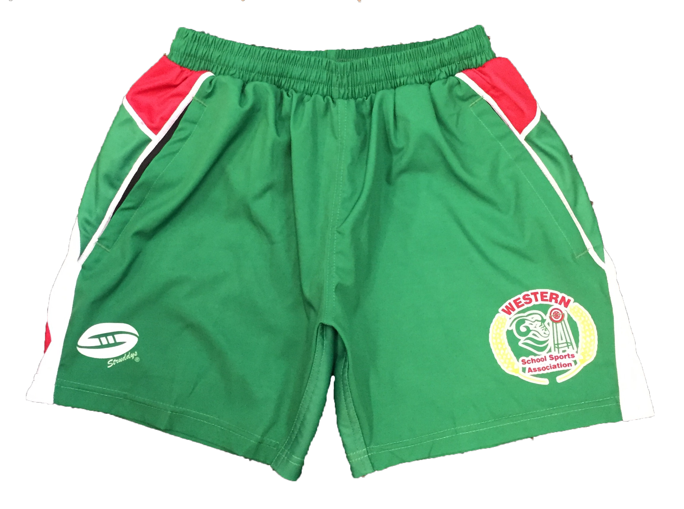 Shorts - Green - New Design - Front