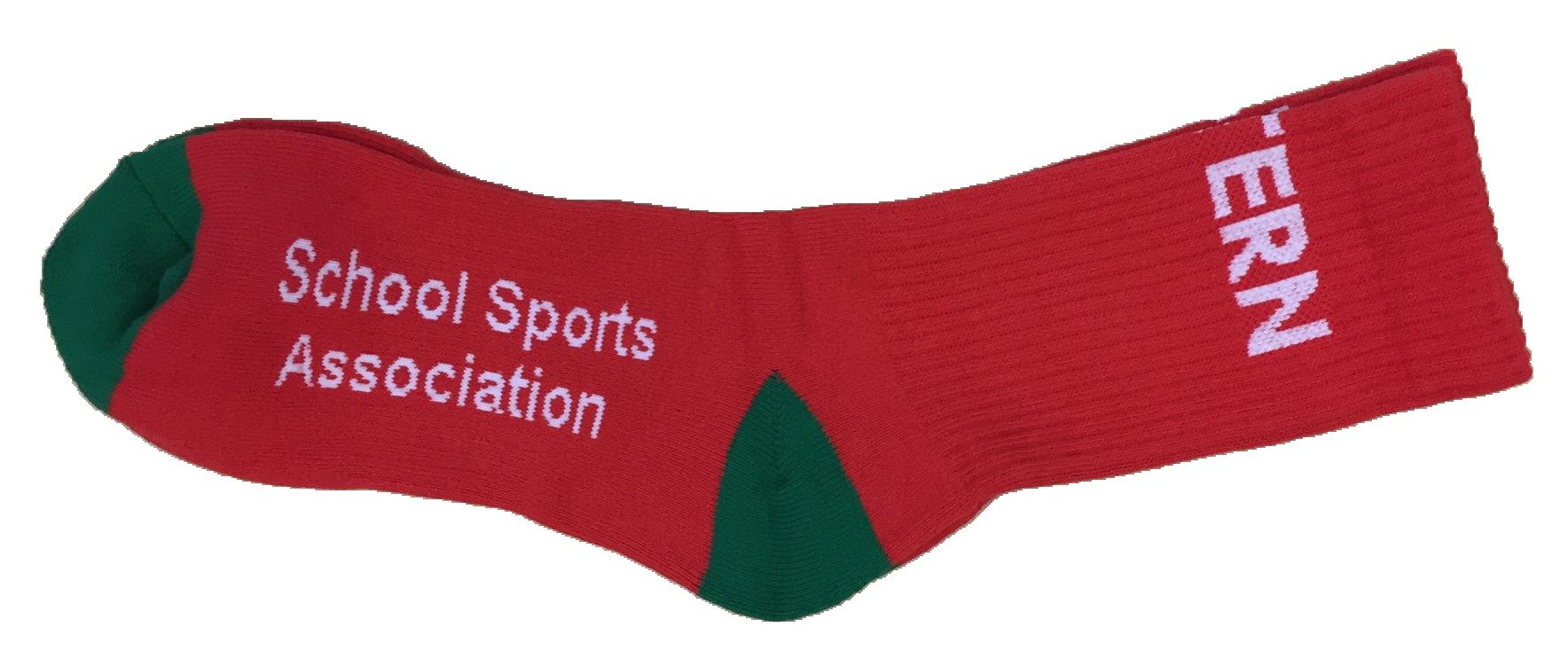 Sports Socks - Red