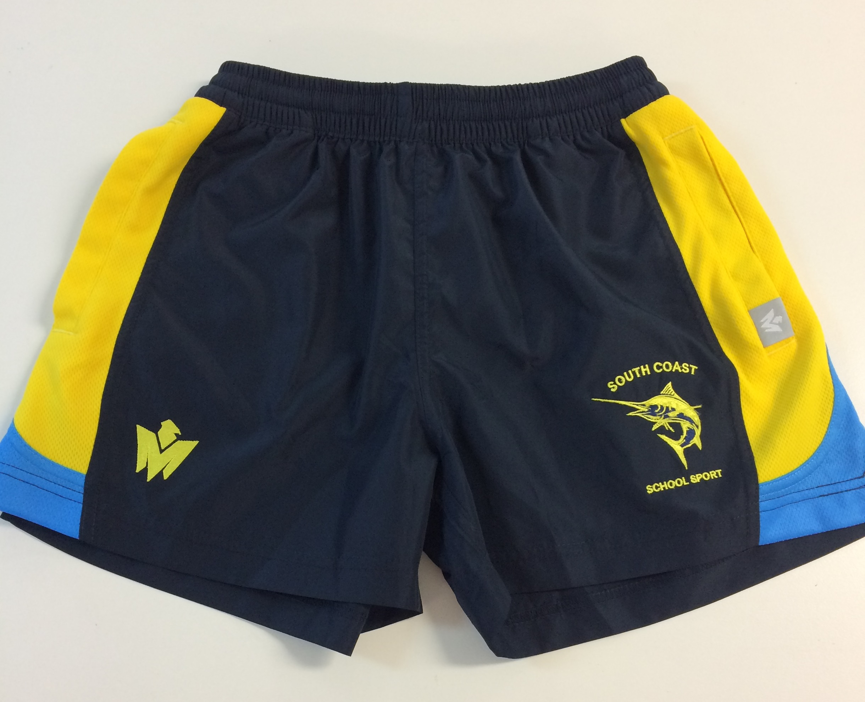 South Coast walk shorts front