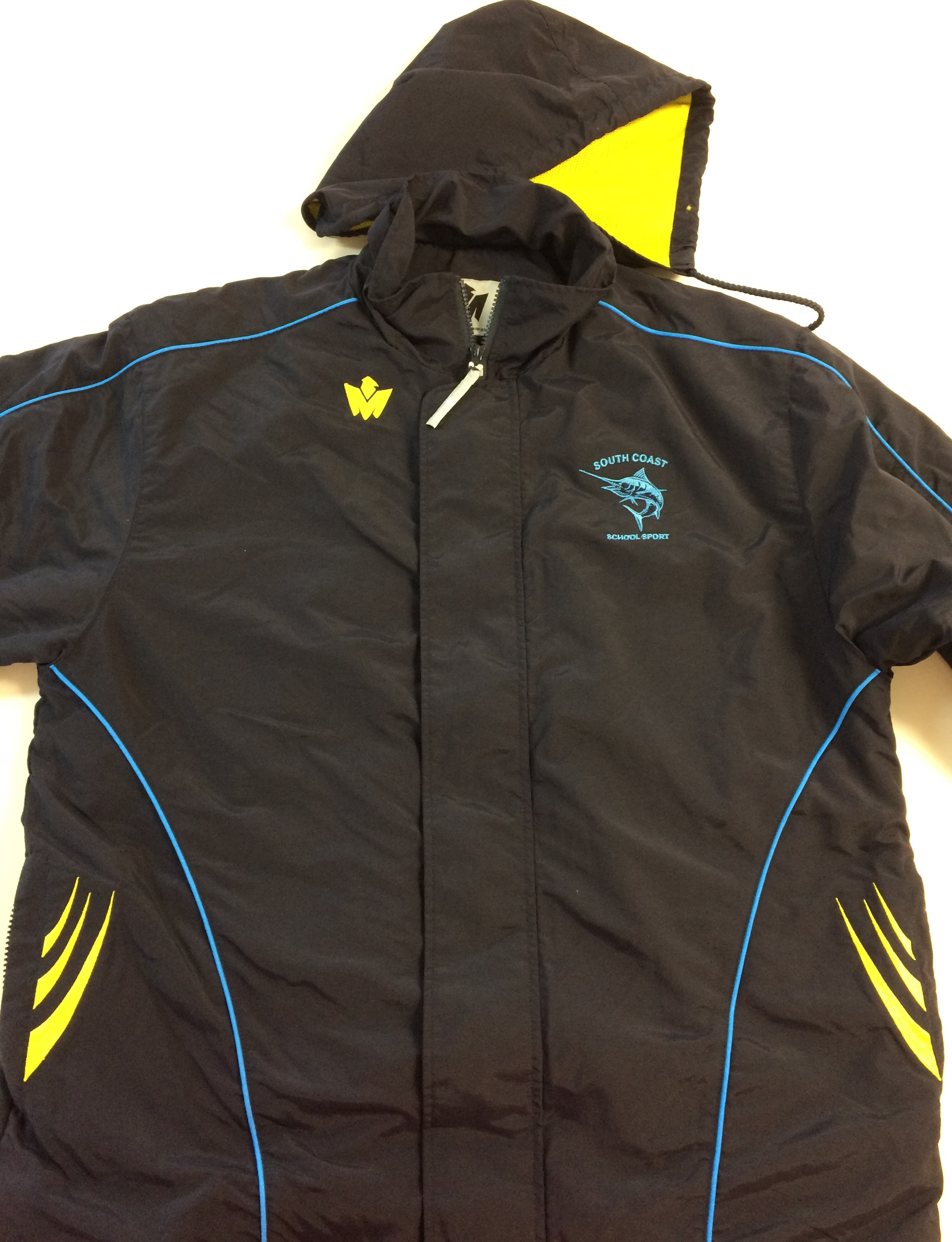 South Coast all weather tracksuit jacket front