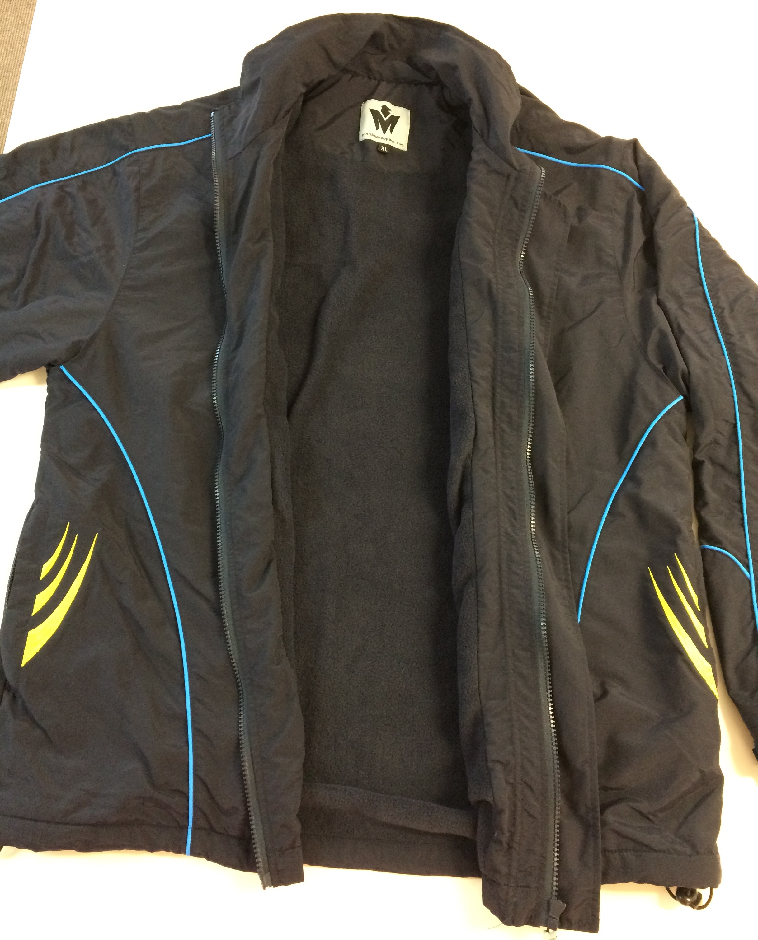South Coast all weather tracksuit jacket front 2