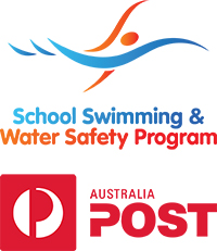 School swimming and water safety program logo