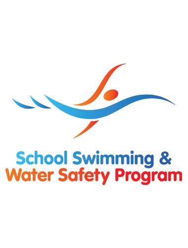 school swimming logo