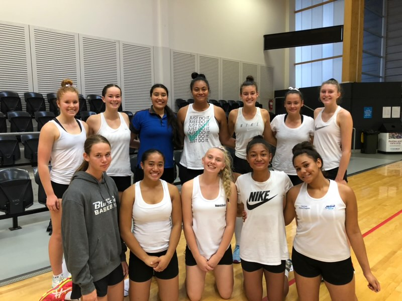 2019 NSW CHS Under 15's Netball Team