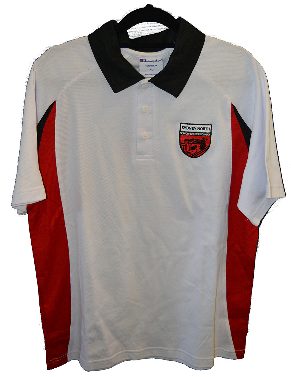 White Polo Shirt - SNSSA team apparel