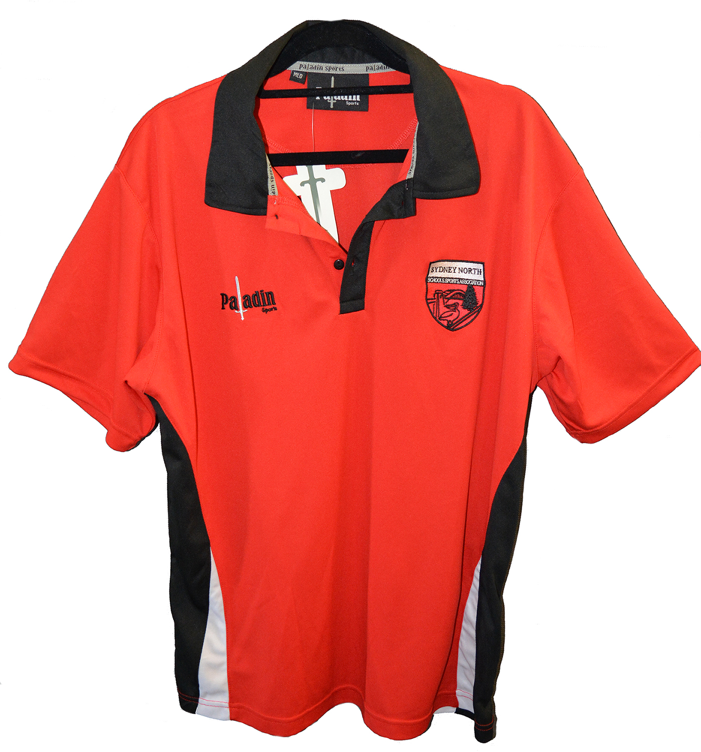 SNSSA Red Polo Shirt