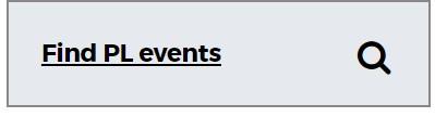 Find PL events button