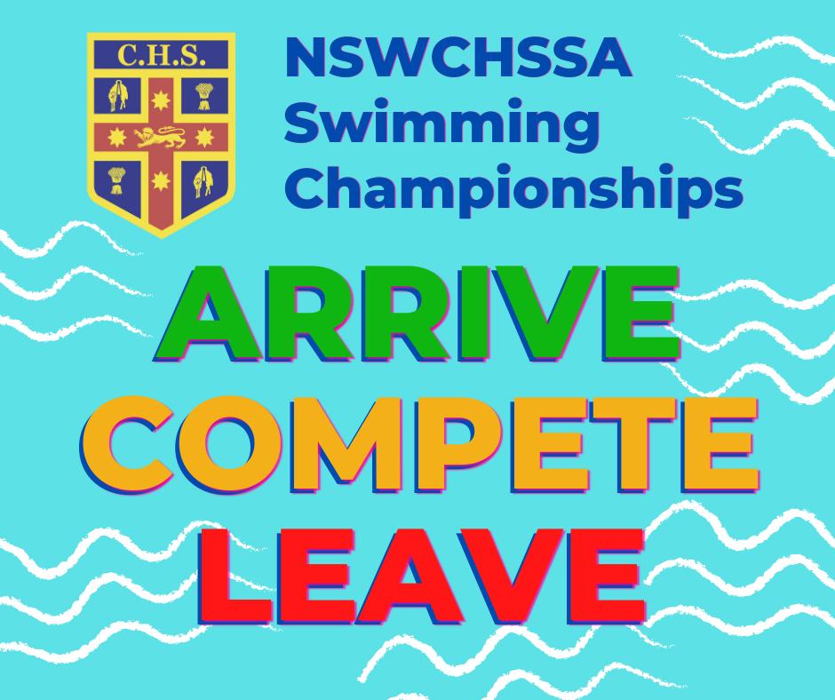NSWCHSSA Swim Arrive Compete Leave