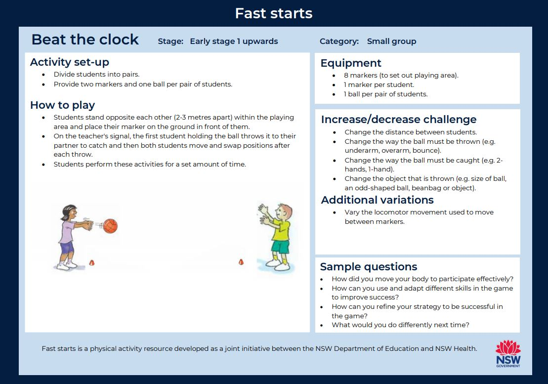 Fast start - Beat the Clock - image