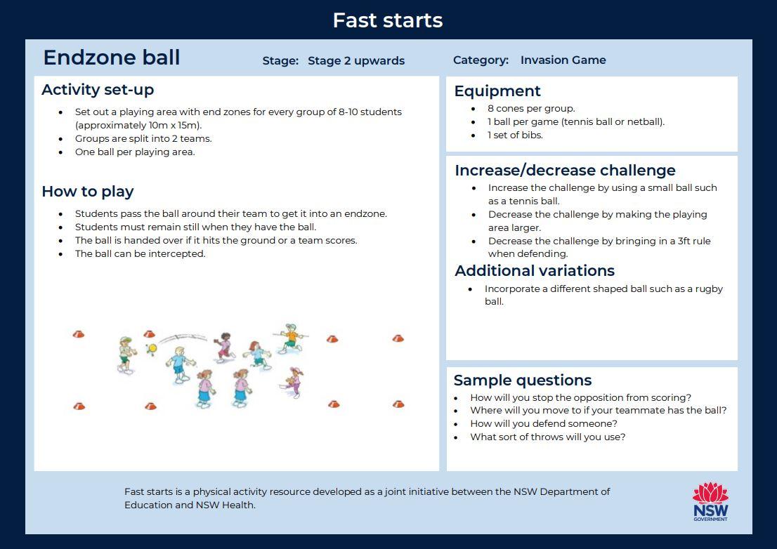 Fast start - Endzone Ball - image