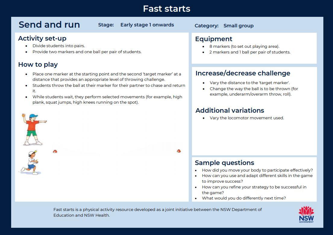 Fast start - Send and Run - image
