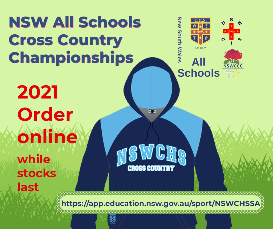 2021 NSWCHSSA Cross Country online apparel store