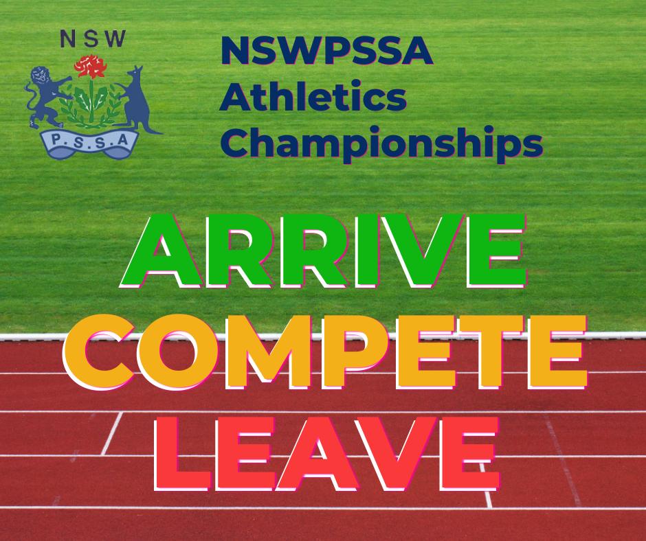 NSWPSSA Arrive Compete Leave