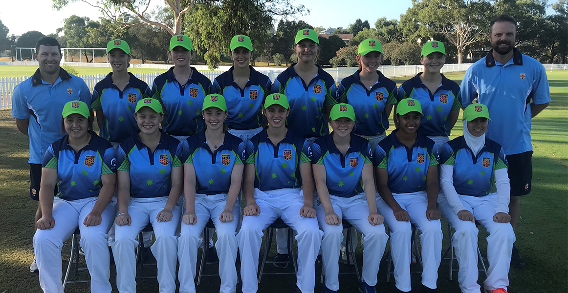 NSWCHSSA girls cricket team photo