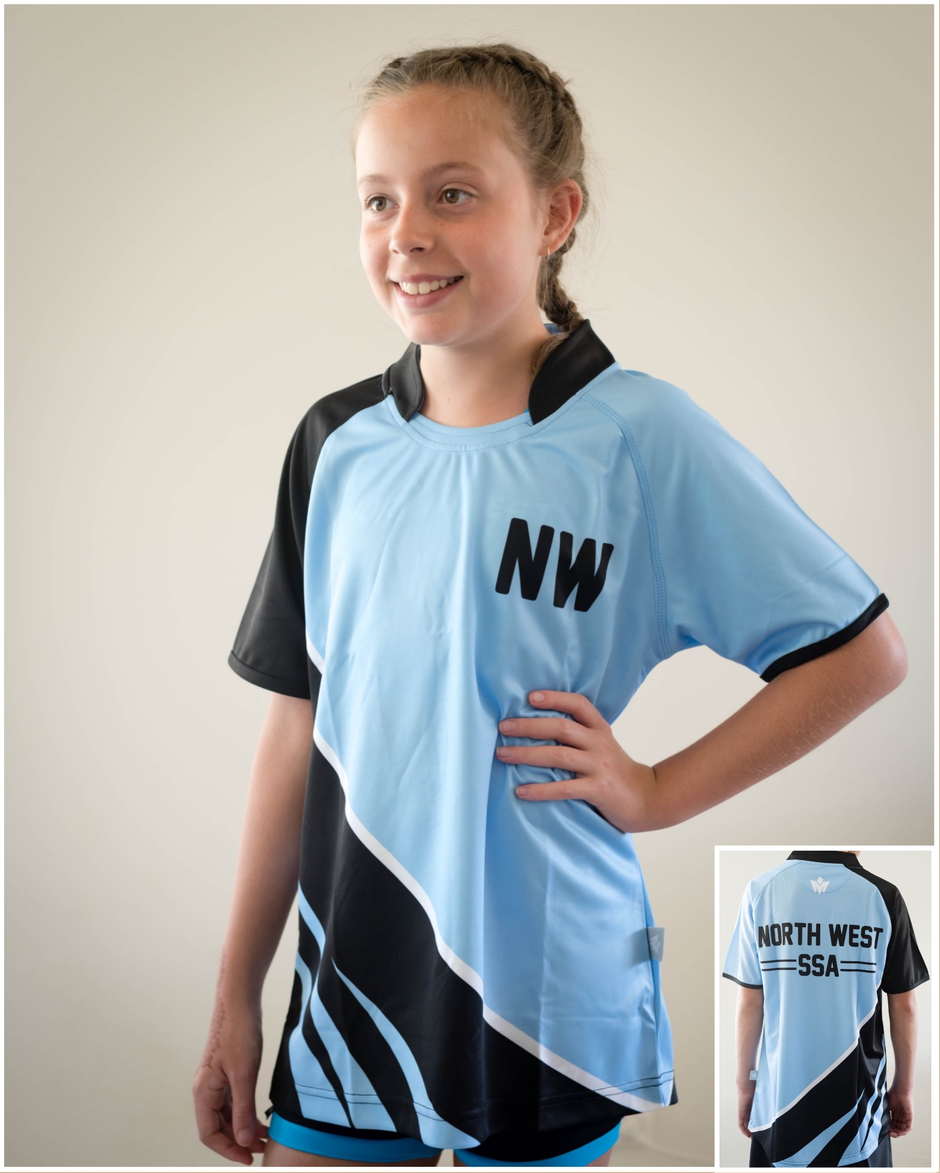 NW G sports shirt